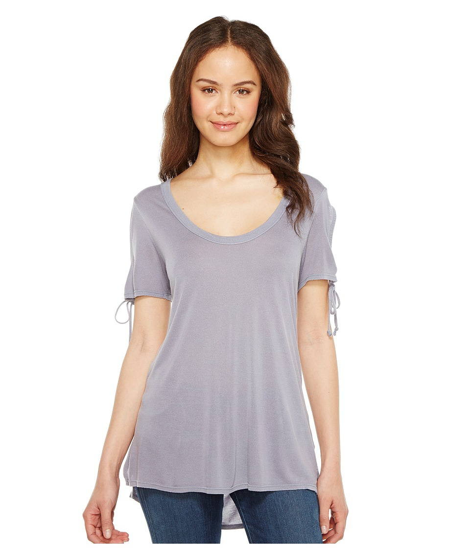 Project Social T - Parsons Cold Shoulder Tee (P. Earl Grey) Womens T Shirt