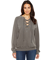 Project Social T - Slave to Love Lace-Up Sweatshirt
