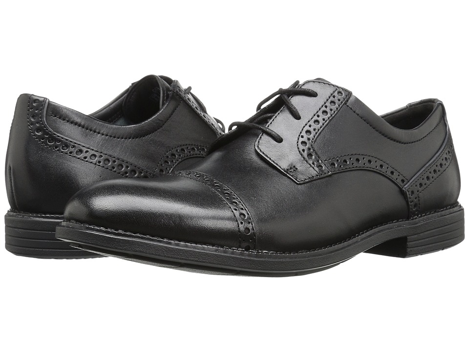 Rockport - Madson Cap Toe (Black) Mens Shoes