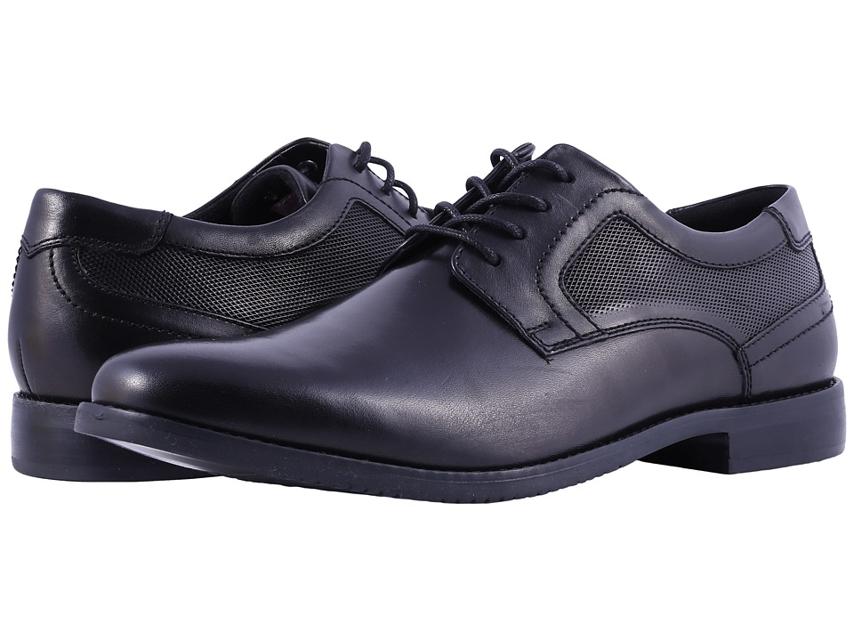 Rockport - Style Purpose Perf Plain Toe (Black) Mens Shoes