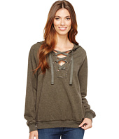 Project Social T - Abby Lace-Up Hoodie