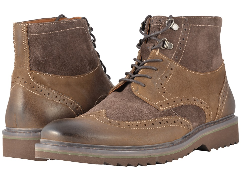 Rockport - Jaxson Wingtip Boot (Brown) Mens Boots