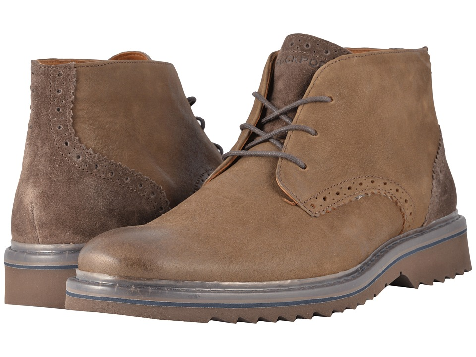 Rockport - Jaxson Low Boot (Brown) Mens Boots