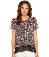 MICHAEL Michael Kors - Brooks Back Cut Out Top