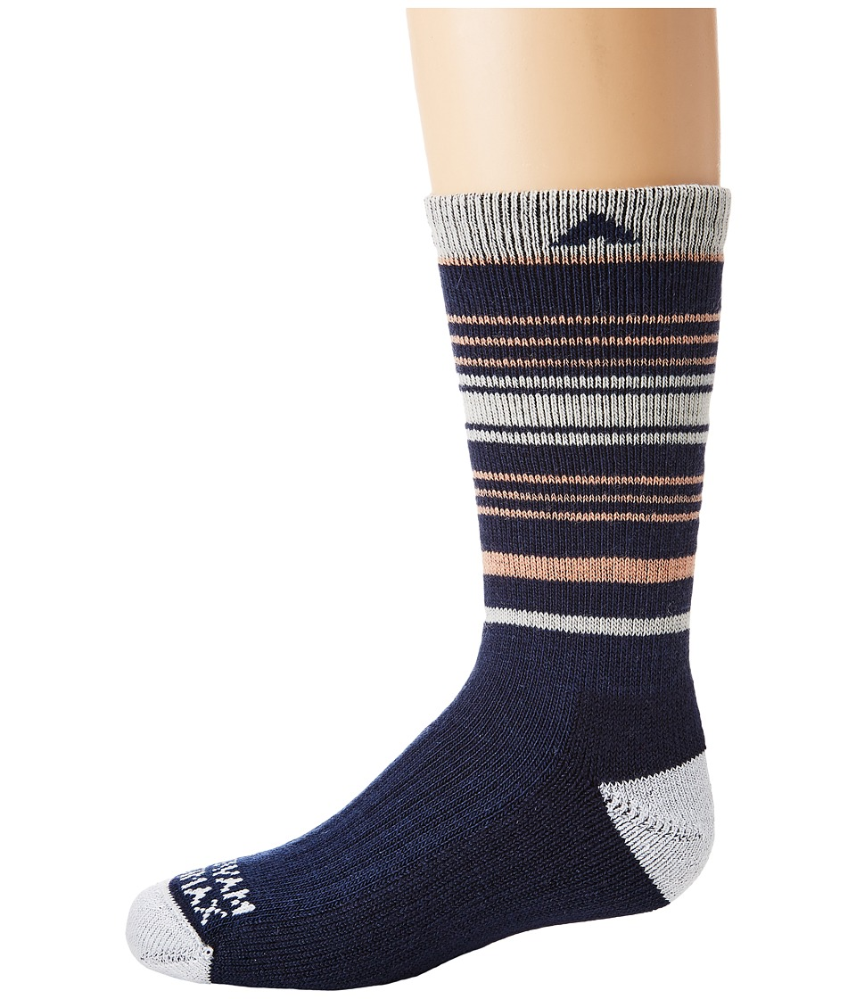 Wigwam - Highline Pro (Toddler/Little Kid/Big Kid) (Peach) Women's Crew Cut Socks Shoes