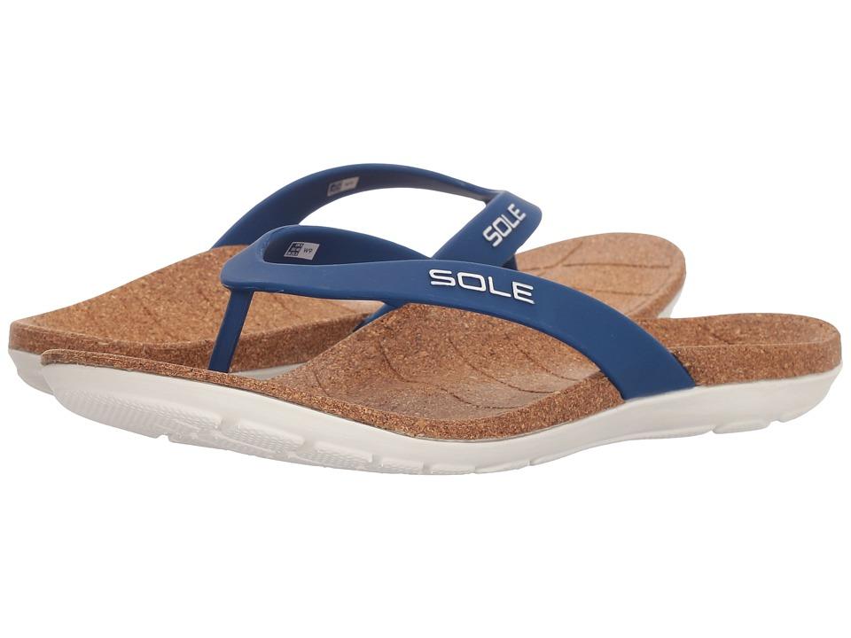 SOLE Beach Flips (Nautical) Sandals
