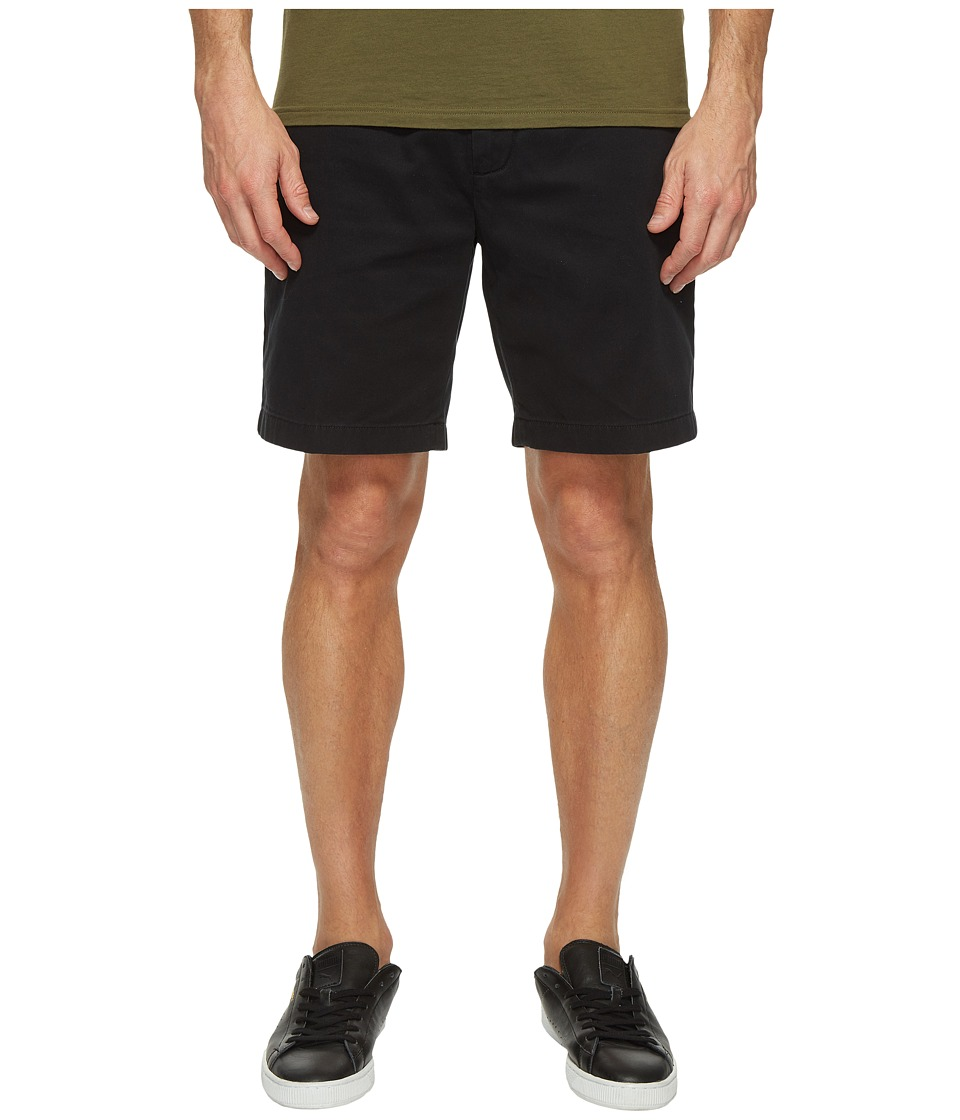 Nautica New Flat Front Deck Shorts (True Black) Men