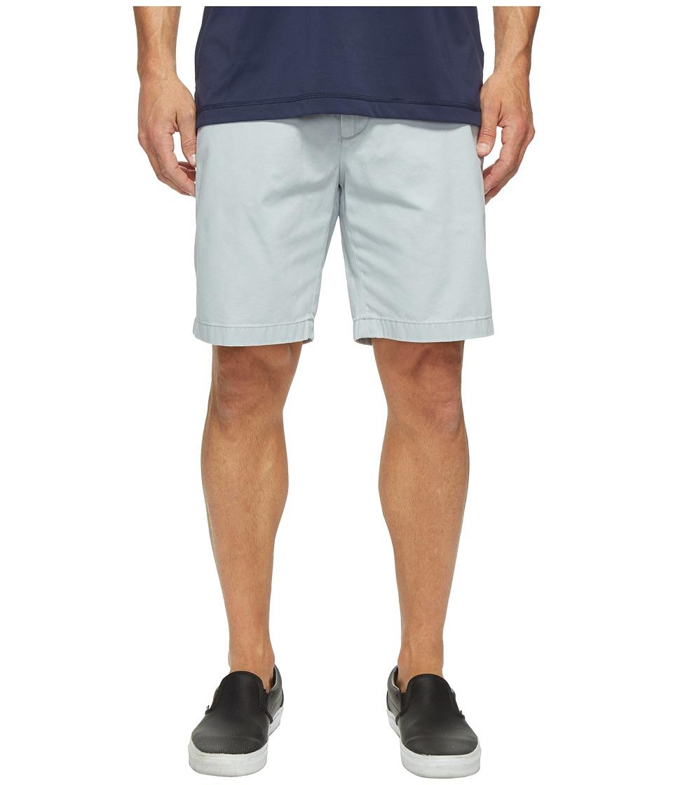 Nautica Anchor Twill Flat Front Shorts (True Quarry) Men