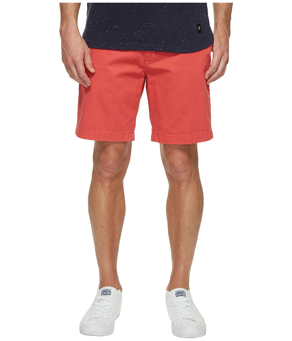 Nautica Anchor Twill Flat Front Shorts (Sailor Red) Men