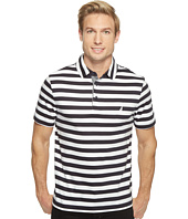 Nautica - Short Sleeve Softex Stripe Polo
