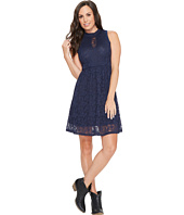 Rock and Roll Cowgirl - Lace Flare Dress D5-3784