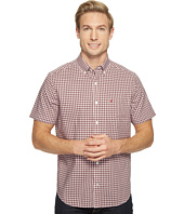 Nautica - Short Sleeve Medium Plaid Wrinkle Resistant