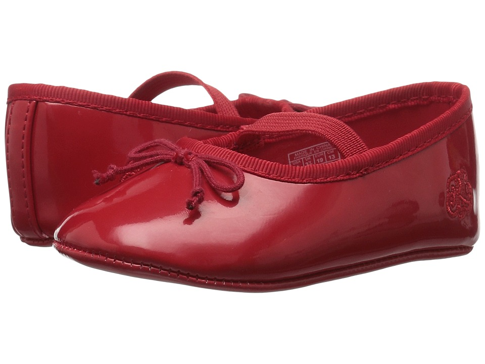Polo Ralph Lauren Kids - Allie (Infant/Toddler) (Red Patent) Girls Shoes