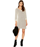 Jack by BB Dakota - Aleko Herringbone French Terry Dress