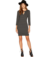 Jack by BB Dakota - Mici Stripe Ponte Cut Out Dress