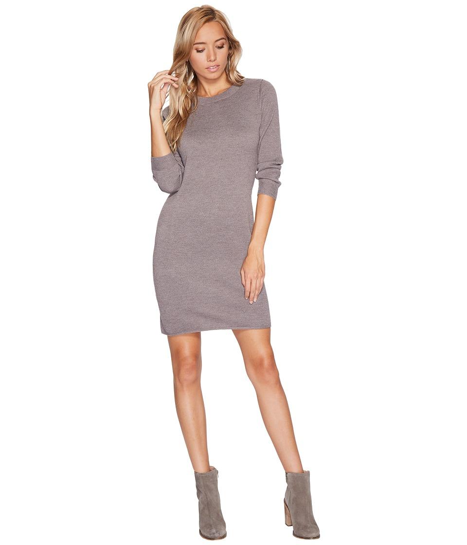 Jack by BB Dakota Marano Sweater Dress (Dark Taupe) Women