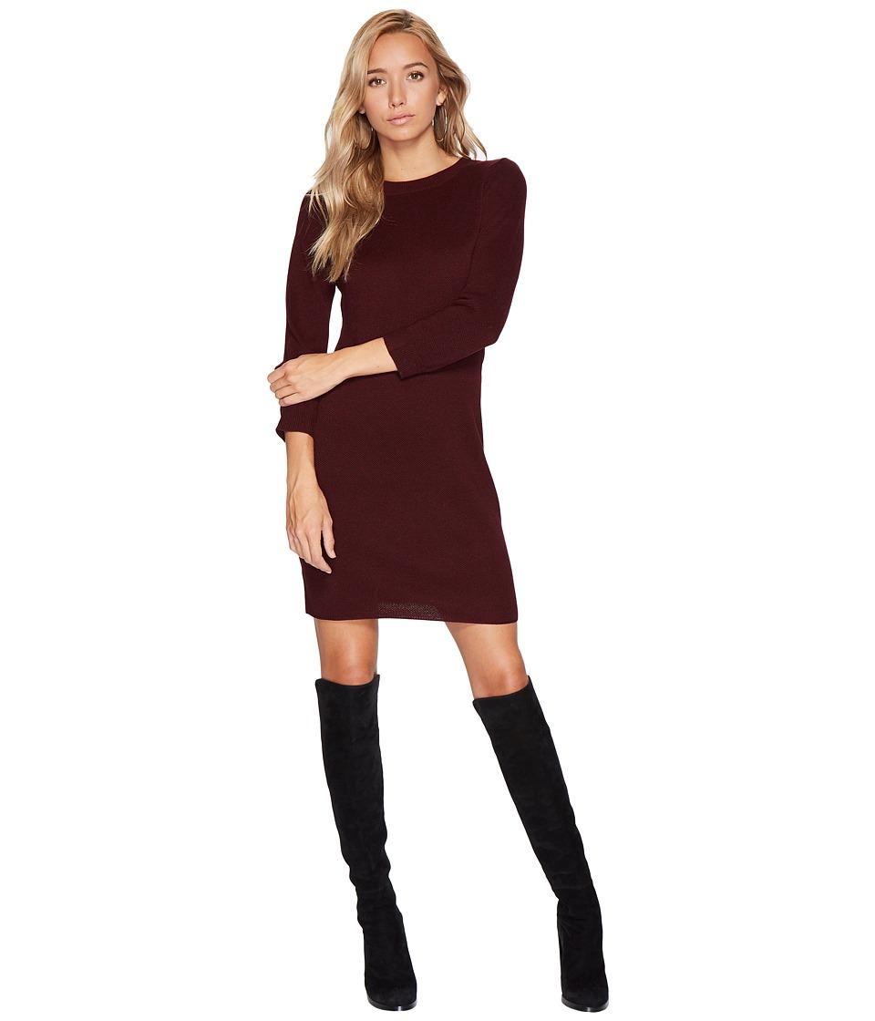 Jack by BB Dakota Marano Sweater Dress (Dark Fig) Women