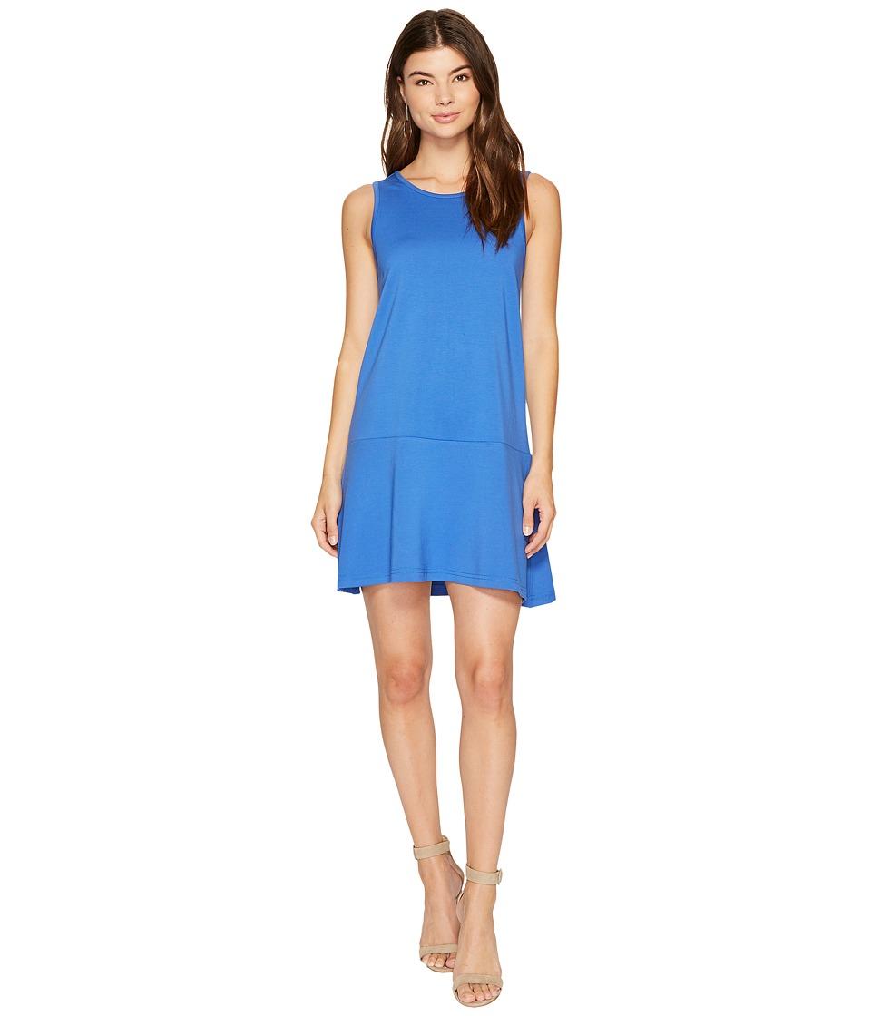 Jack by BB Dakota Ponte Drop-Waist Dress (Royal Blue) Women