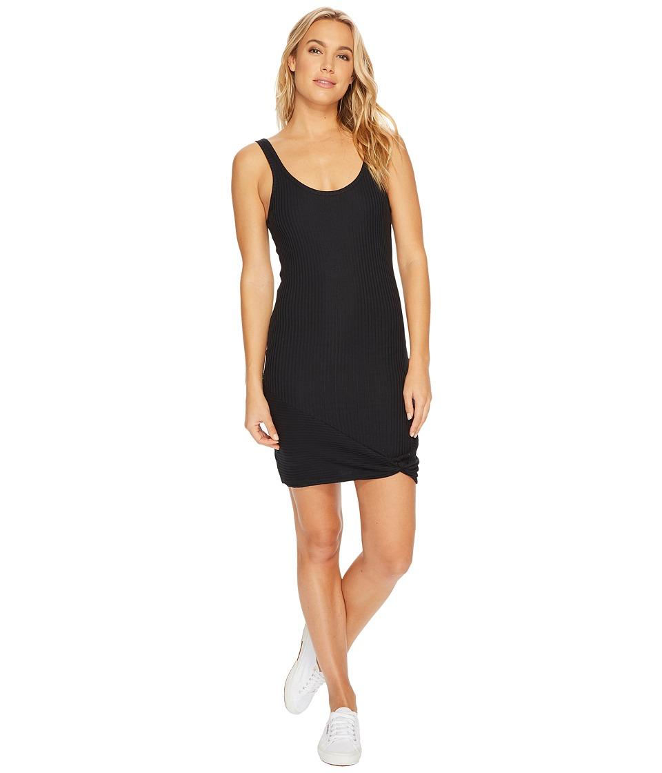 RVCA Tied Up Dress (Black) Women