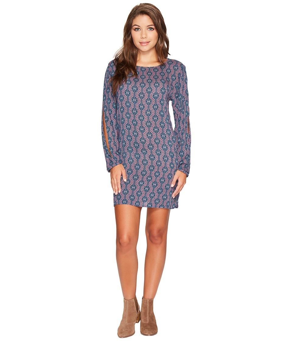 Roxy Definitely Traveling Dress (Reflecting Pond Abella Geo) Women
