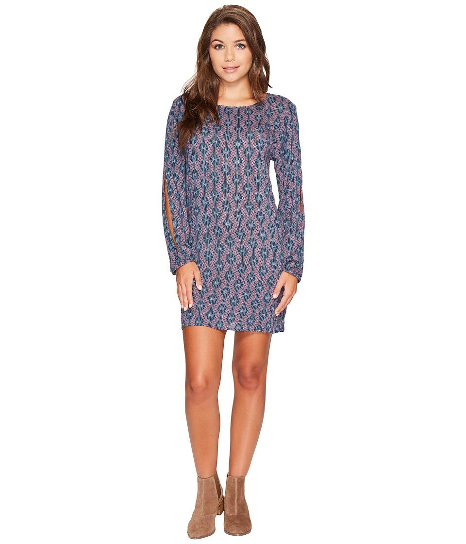 Roxy Definitely Traveling Dress (Reflecting Pond Abella Geo) Women