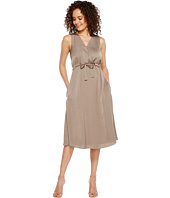 Ellen Tracy - Front Tie Wrap Dress
