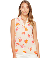 Ellen Tracy - Ruffle V-Neck Shell