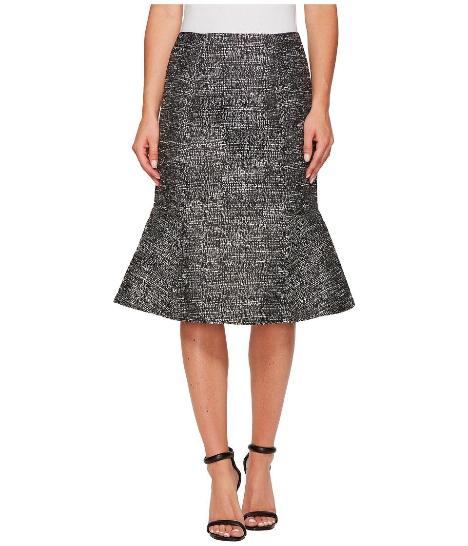 Ellen Tracy - Seamed Flounce Skirt