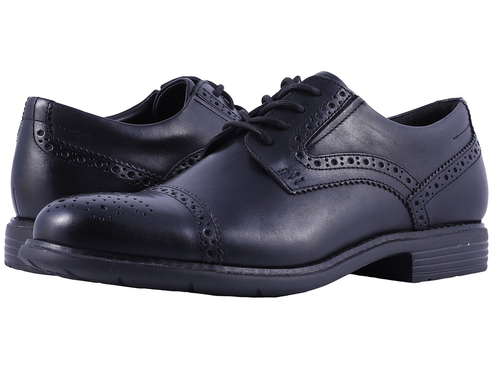Rockport - Total Motion Classic Dress Cap Toe (Black) Mens Shoes