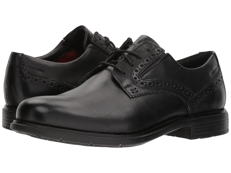 Rockport - Total Motion Classic Dress Plain Toe (Black) Mens Shoes
