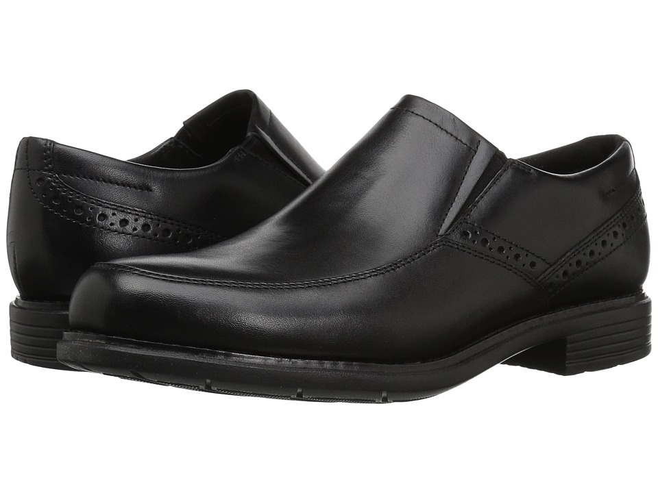 Rockport - Total Motion Classic Dress Slip-On (Black) Mens Shoes