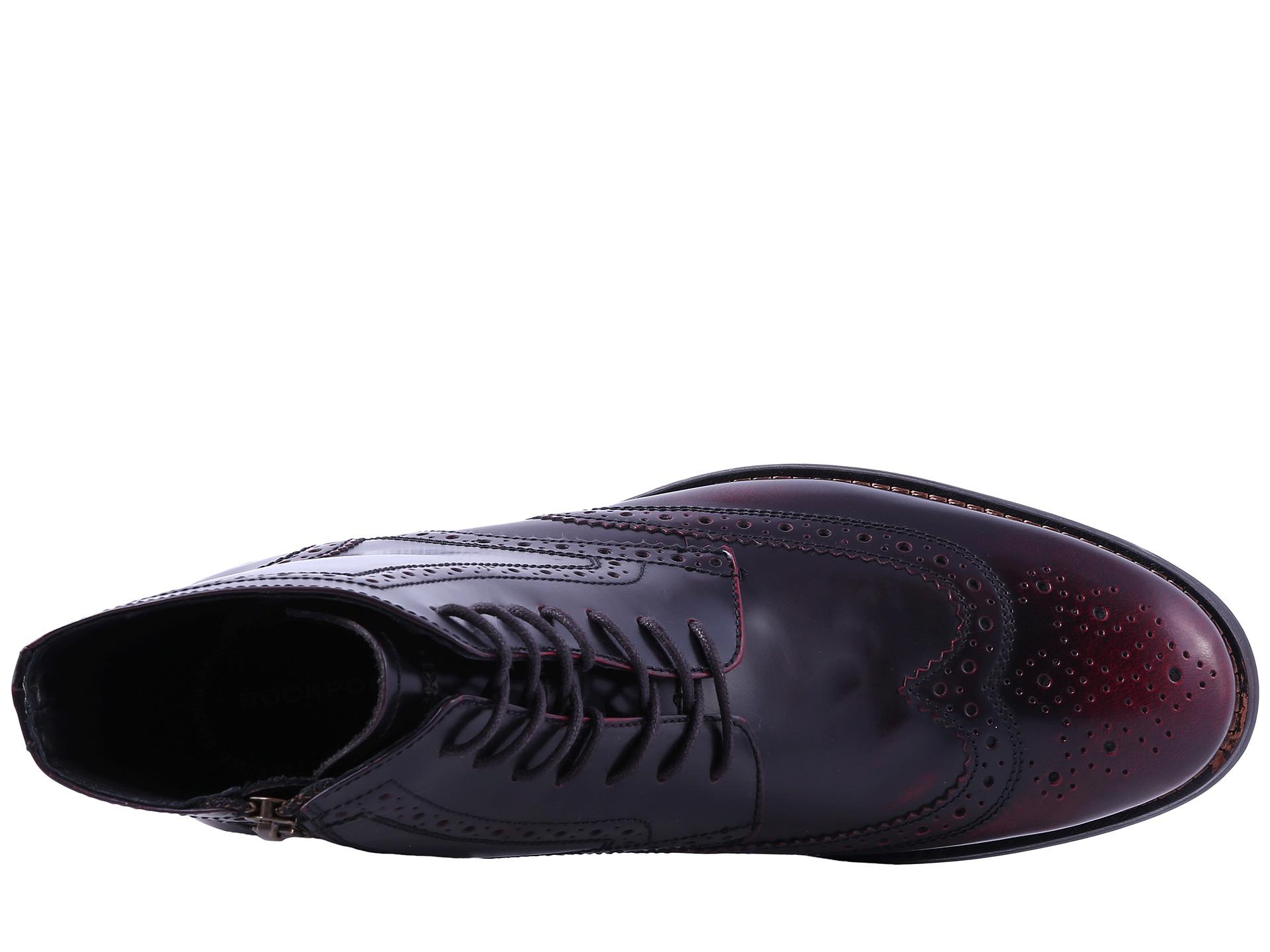 Rockport Burgundy  E Men S Shoes