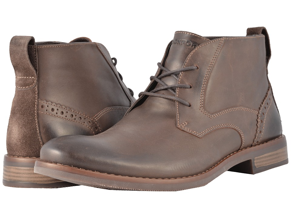 Rockport Wynstin Chukka (Dark Bitter Chocolate) Men
