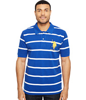 U.S. POLO ASSN. - 2 Color Narrow Stripe Polo