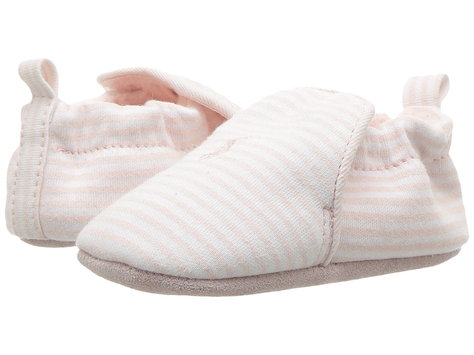 Polo Ralph Lauren Kids Percie (Infant/Toddler) (Light Pink/Cream Striped Jersey) Girl's Shoes