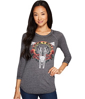 Rock and Roll Cowgirl - 3/4 Sleeve Tee 48T3527