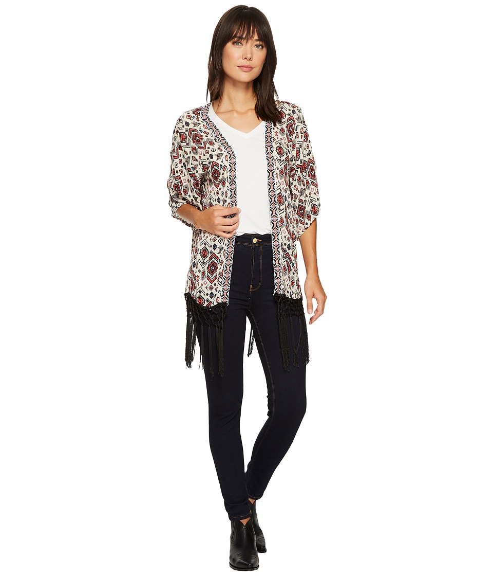 Rock and Roll Cowgirl - 3/4 Sleeve Kimono B4-3168