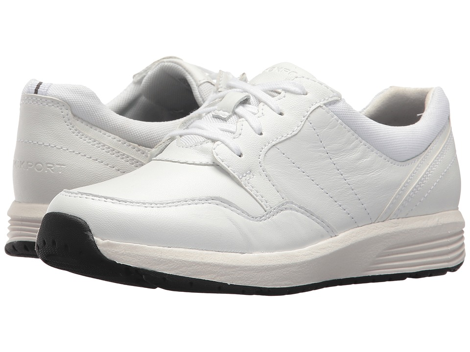 Rockport Trustride Lace Up (White) Women's Shoes