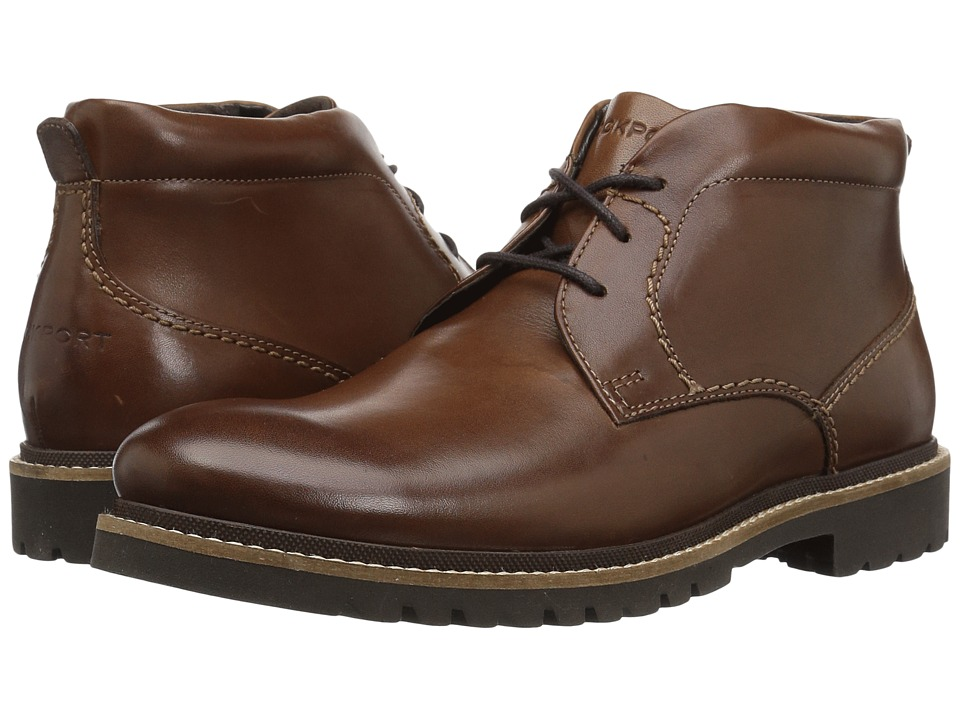 Rockport - Marshall Chukka (Dark Brown) Mens Shoes