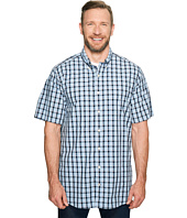 Nautica Big & Tall - Big & Tall Short Sleeve Large Plaid Woven Shirt