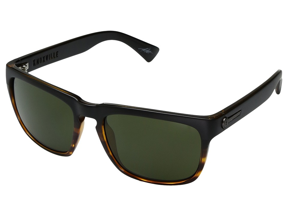 Electric Eyewear Knoxville Polarized (Darkside Tort/OHM Grey) Sport Sunglasses