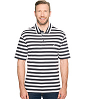 Nautica Big & Tall - Big & Tall Short Sleeve Softex Stripe Polo Knits