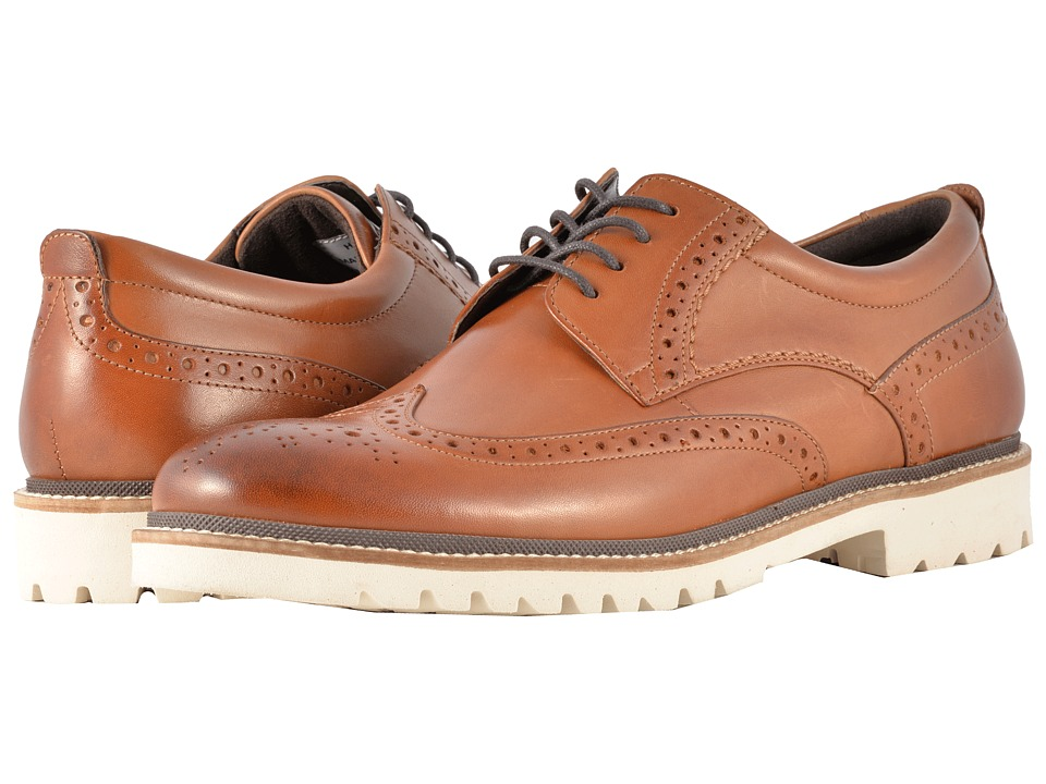 Rockport - Marshall Wingtip (Cognac Leather) Mens Shoes