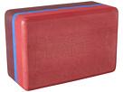 Manduka - Recycled Foam Block Three-Tone
