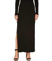 Jack by BB Dakota - Mattison Rib-Knit High Slit Skirt