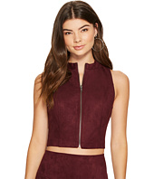 Jack by BB Dakota - Dwyer Faux Suede Scuba Zip Top