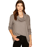 Jack by BB Dakota - Hogen Soft Rib Cowl Neck Top