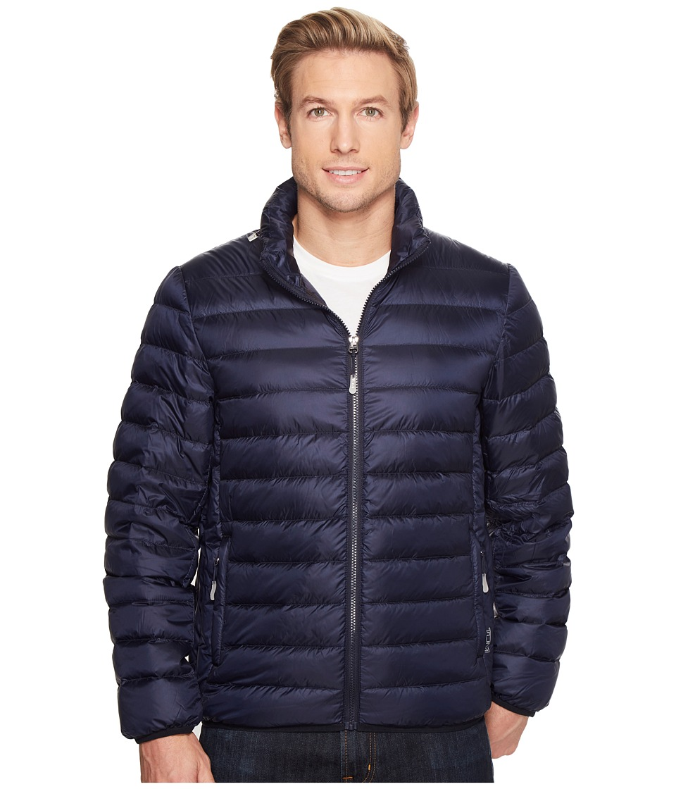 Tumi Patrol Packable Travel Puffer Jacket (Navy) Men