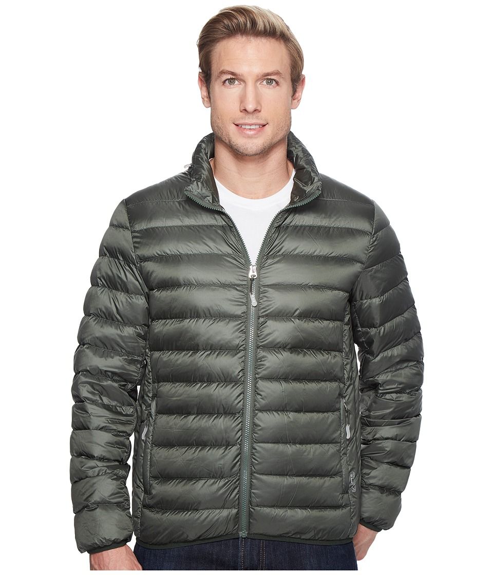 Tumi Patrol Packable Travel Puffer Jacket (Moss) Men