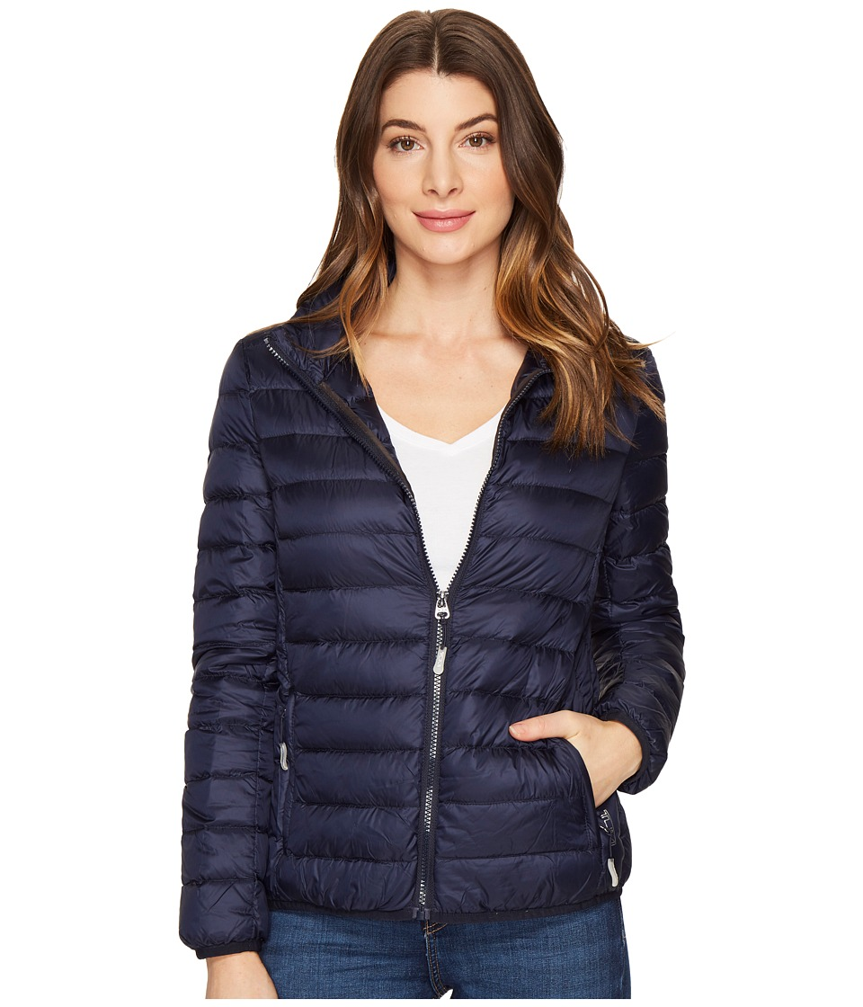 Tumi Clairmont Packable Travel Puffer Jacket (Navy) Women